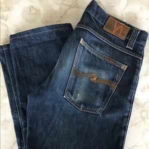 "NUDIE Jeans ""Average Joe"" Straight Leg Jeans"